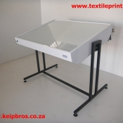 Artist Light Table with Tilt function Screen Printing Equipment