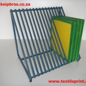 Screen Storage Rack Silkscreen Printing Equipment