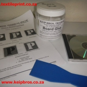 Board Glue Training Manual Spatula CD