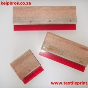 Squeegees in Wooden Handle Screen Printing Accessories Sizes