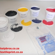 Textile Waterbased Inks Colours